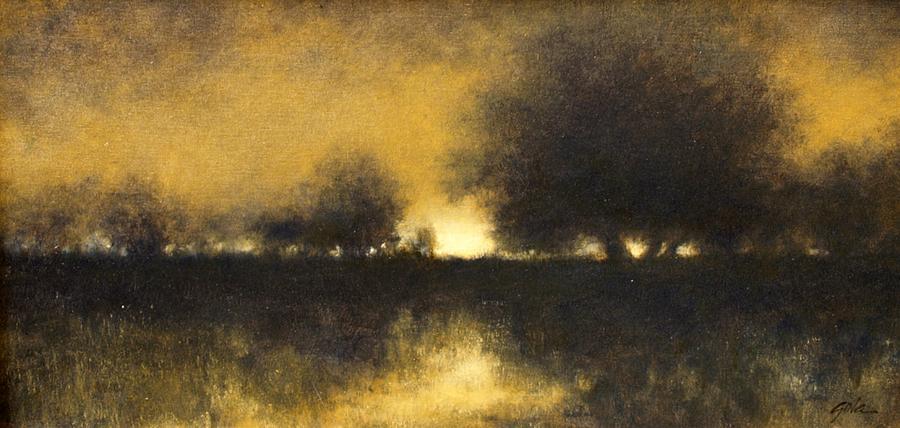 Landscapes Painting - Celestial #6 by Jim Gola