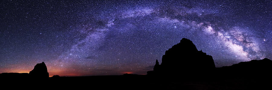 Milky Way Photograph - Celestial Arch by Chad Dutson