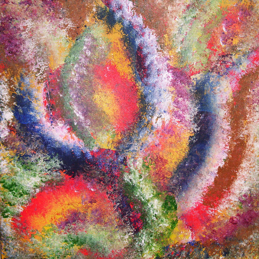 Movement Painting - Celestial by Distinctive Abstracts