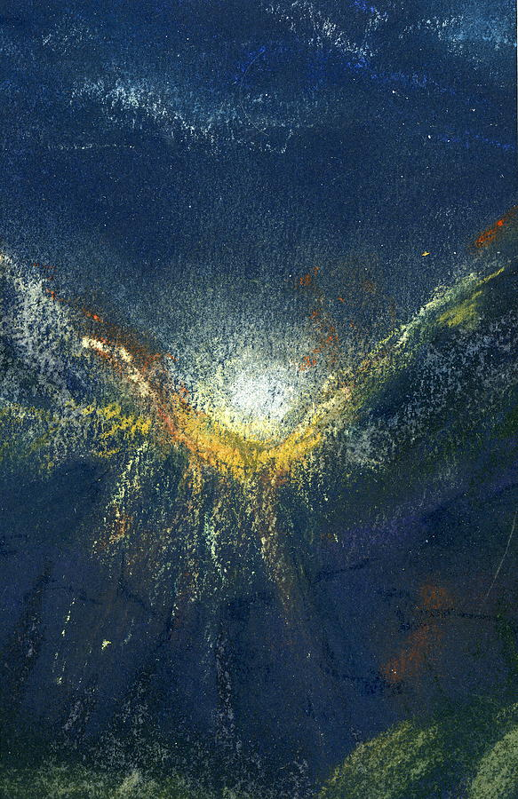 Landscape Painting - Celestial by Marilyn Barton