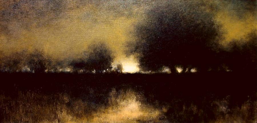 Landscapes Painting - Celestial Place #6 by Jim Gola