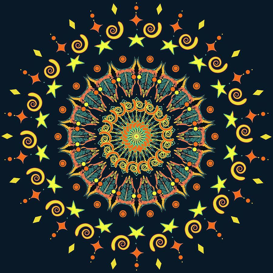 Celestial Yayas by Ronda Broatch