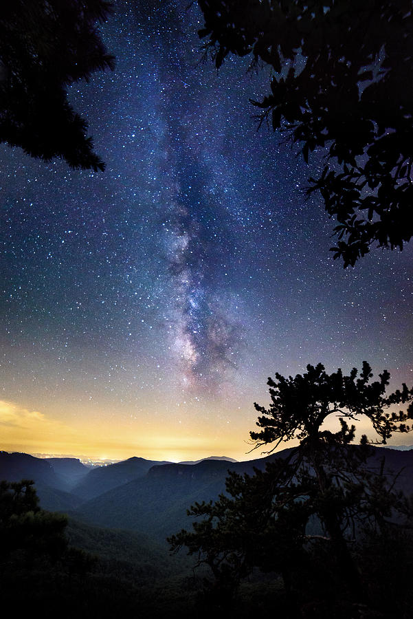 Celestrial Night, Linville Gorge NC by Tommy  White