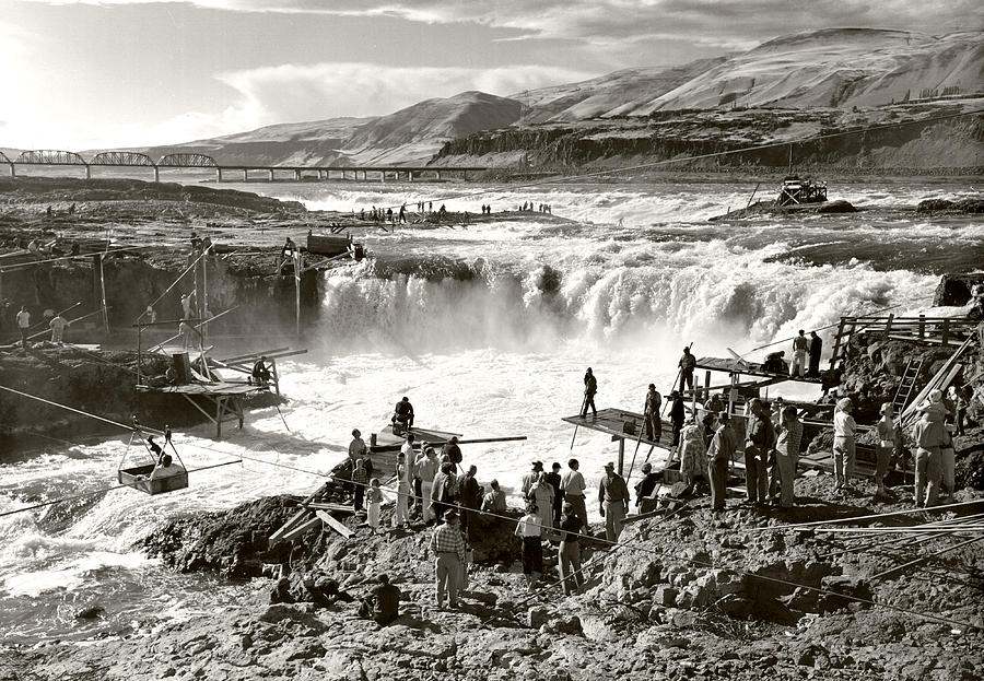 Celilo Falls Photograph by Unknown