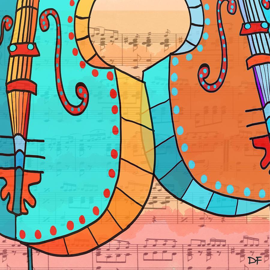 Cellos Play by Dora Ficher