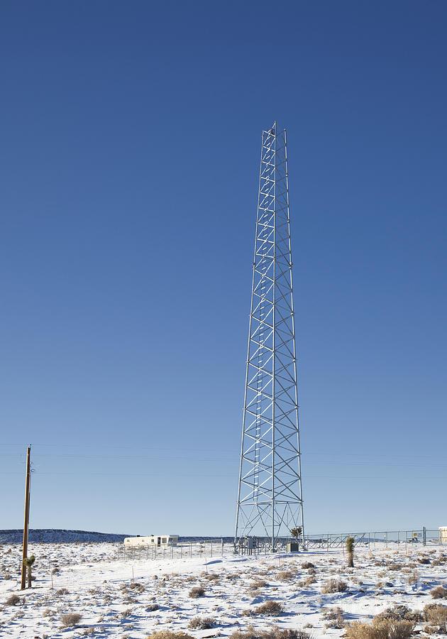 Cellphones Photograph - Cellphone Tower by David Buffington
