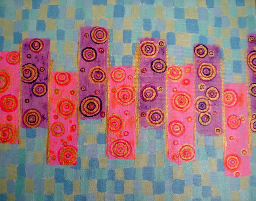 Painting Painting - Cells by Yvonne Flynn