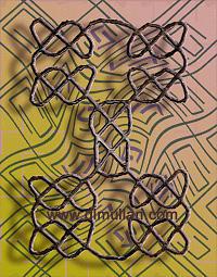 Celtic Digital Art - Celtic Bound by DL Mullan