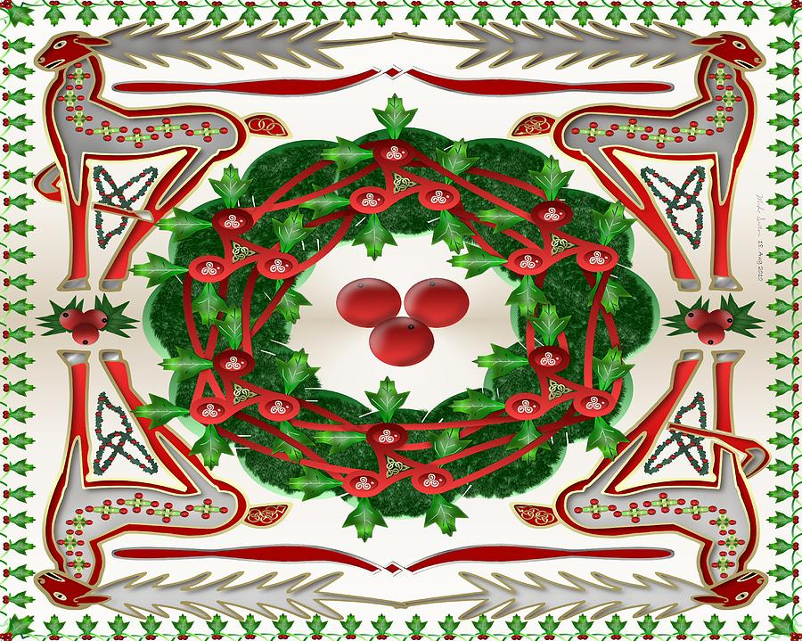 christmas painting celtic christmas by mike sexton - Celtic Christmas