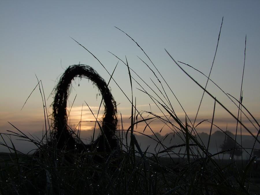 Print Photograph - Celtic Circle Dawn-05 by Pat Bullen-Whatling