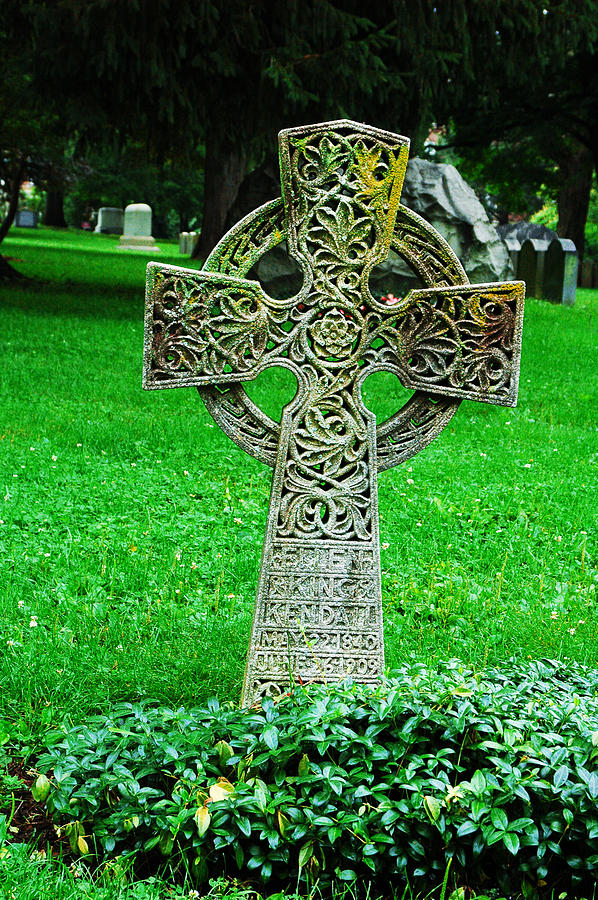 Celtic Cross  Photograph by Brigid Nelson