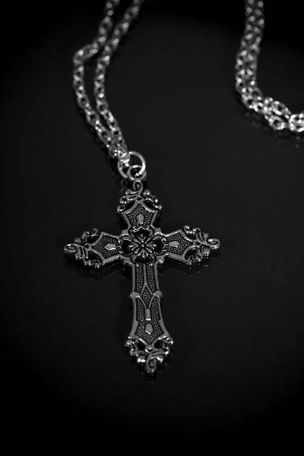 Necklace Photograph - Celtic Cross by Joana Kruse