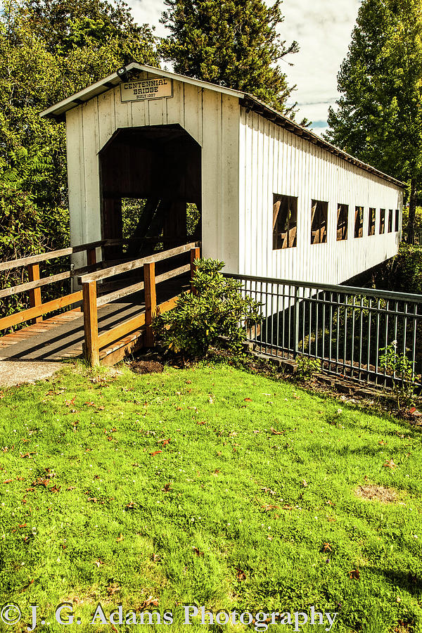 Centennial Bridge by Jim Adams