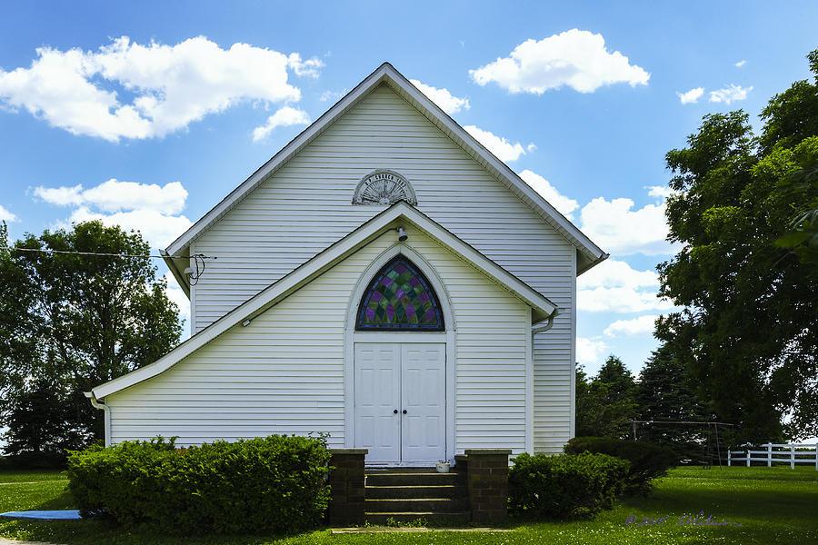 Religion Photograph - Center Ridge Presbyterian Church by Edward Peterson