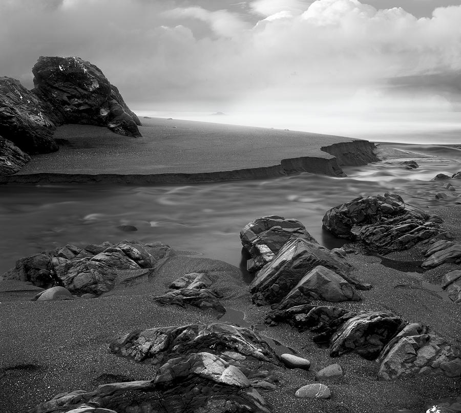 Oregon Photograph - Central Oregon Coast by Leland D Howard