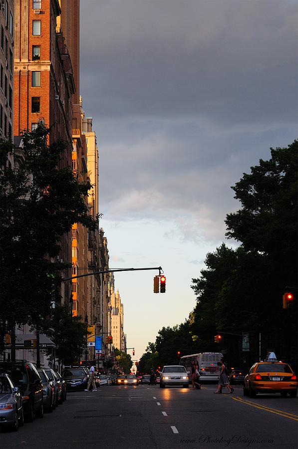 New York City Photograph - Central Park West 7524 by PhotohogDesigns
