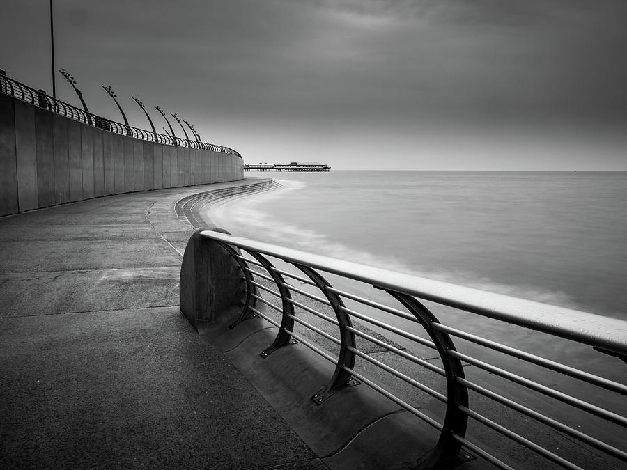 Central Pier Photograph - Central Pier Blackpool by Mike Walker