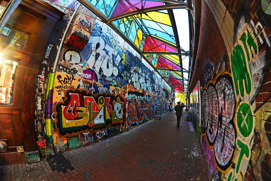 central photograph central square graffiti cambridge ma by toby mcguire - Central Kitchen Cambridge