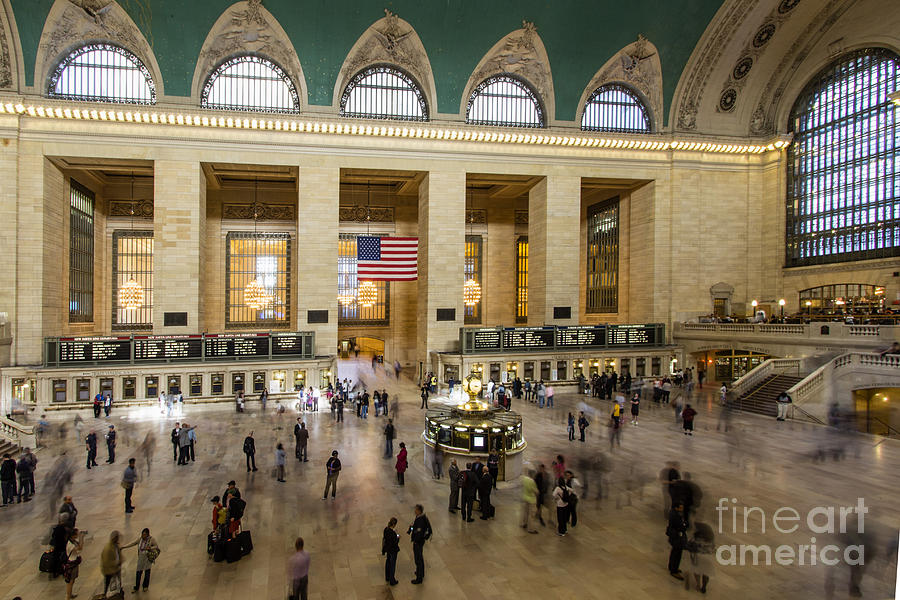 New York City Photograph - Central Station New York  by Juergen Held