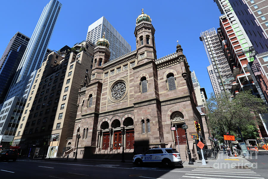 Central Synagogue- 652 Lexington Ave  by Steven Spak