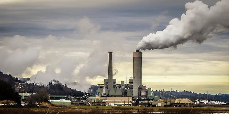 Centralia Power Plant by Tony Porter Photography