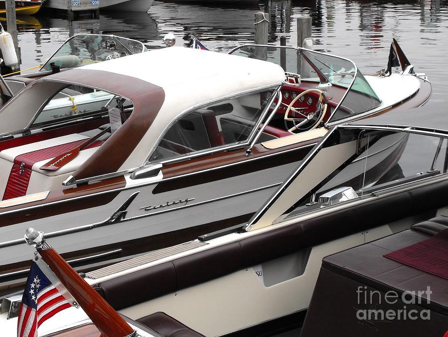 Motorboat Photograph - Century Coronado by Neil Zimmerman