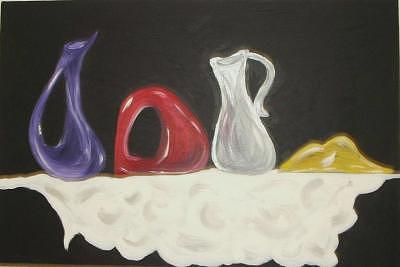 Fun Fun Painting - Ceramic by Christina Beyer