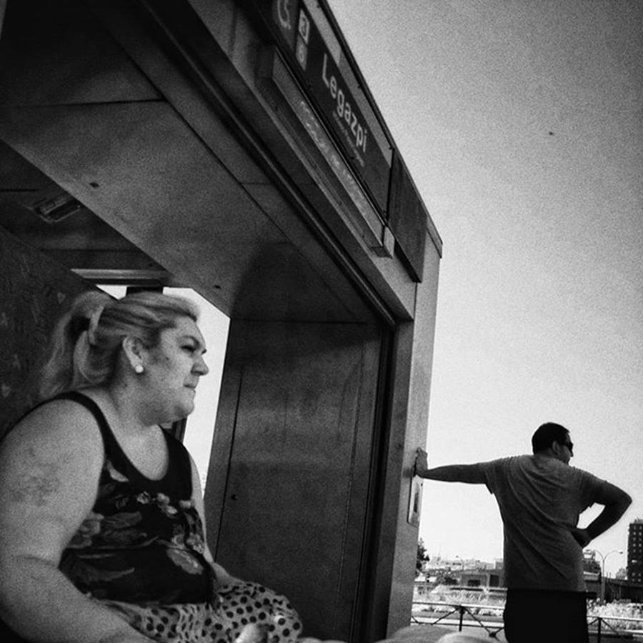 Citylife Photograph - Cerberus  #woman #people #instapeople by Rafa Rivas