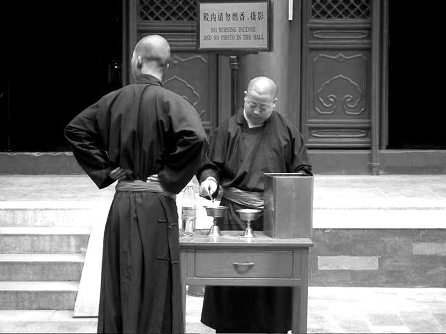 China Photograph - Ceremony by Diana Davenport