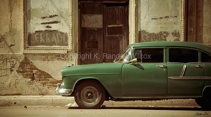 Cuba Photograph - Cerrado by K Randall Wilcox