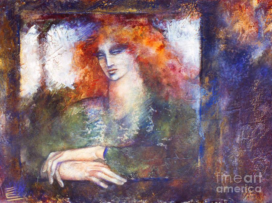 Figure Painting - Cerridwen by Marne Adler