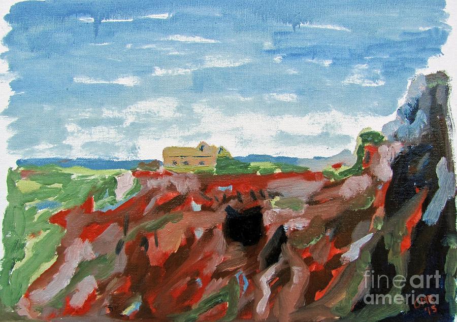 Cerro Painting - Cerro del Hierro by Greg Mason Burns