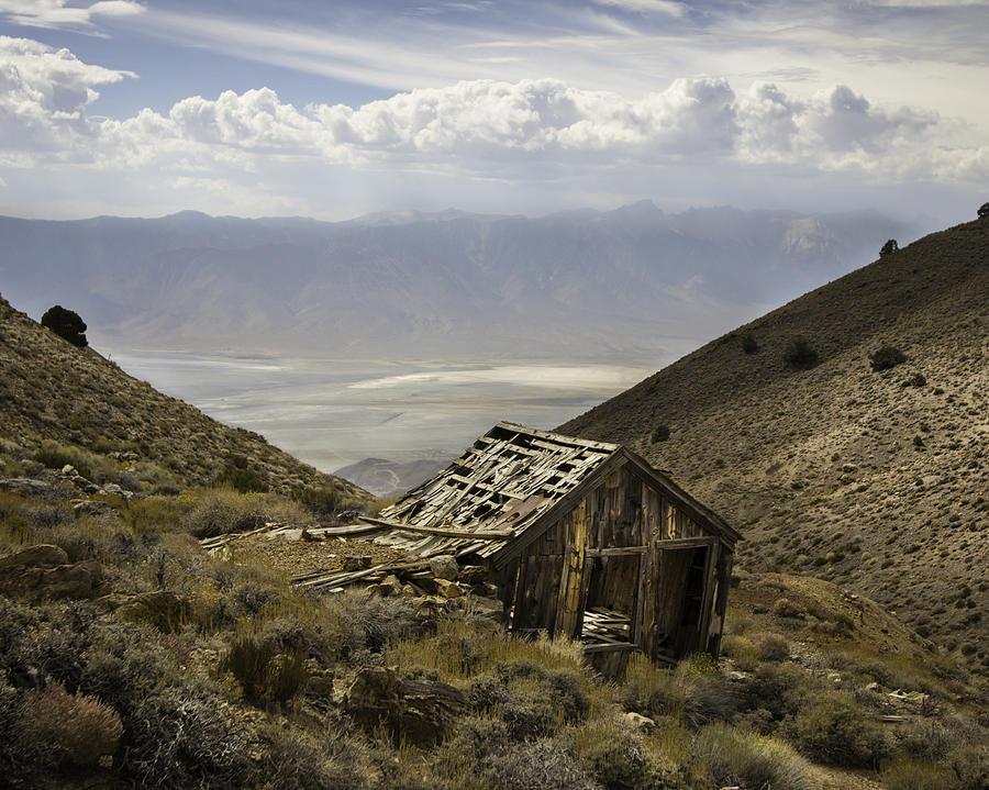 Cerro Gordo Cabin by Dusty Wynne