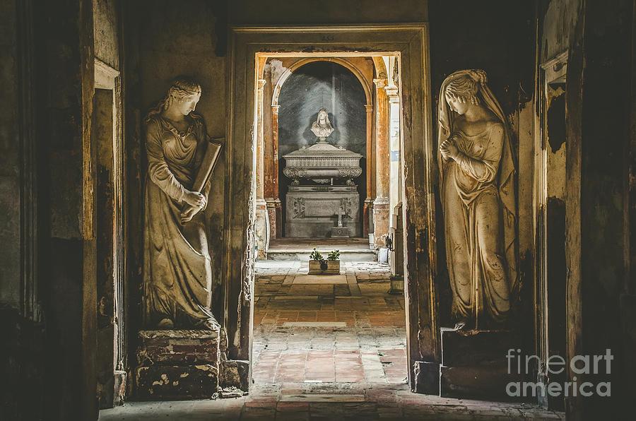 Cemetery Photograph - Certosa Di Bologna by Luca Lorenzelli