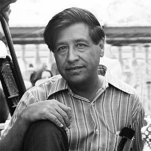 Chavez Photograph - Cesar Chavez Portrait by Jesus Garza