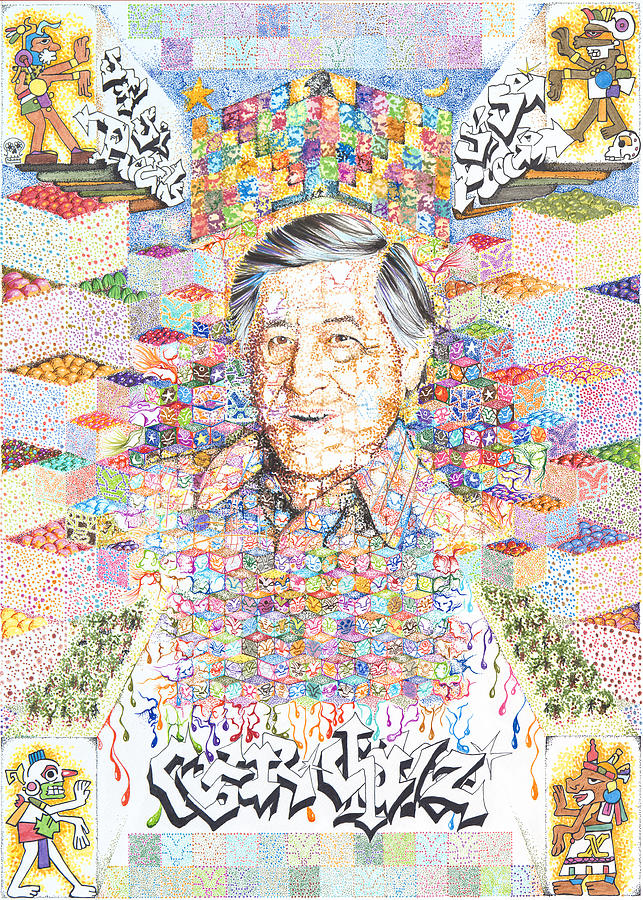 Cesar Chavez- Sombra de Arreguin by Doug Johnson