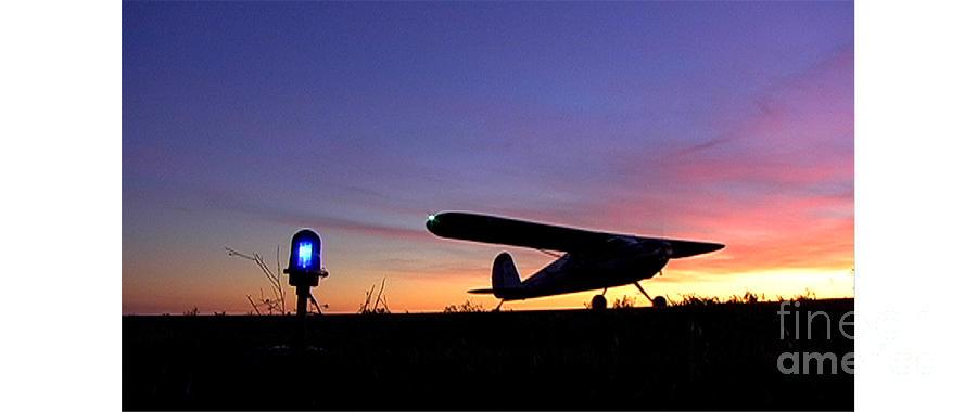 Cessna Sunset Photograph