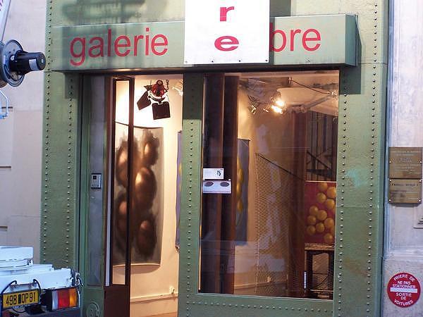 Cest De La Peinture Exhibition Painting by Catherine Benas
