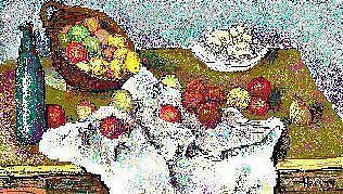 Cezanne In Ms Paint Digital Art by Clare Harvey
