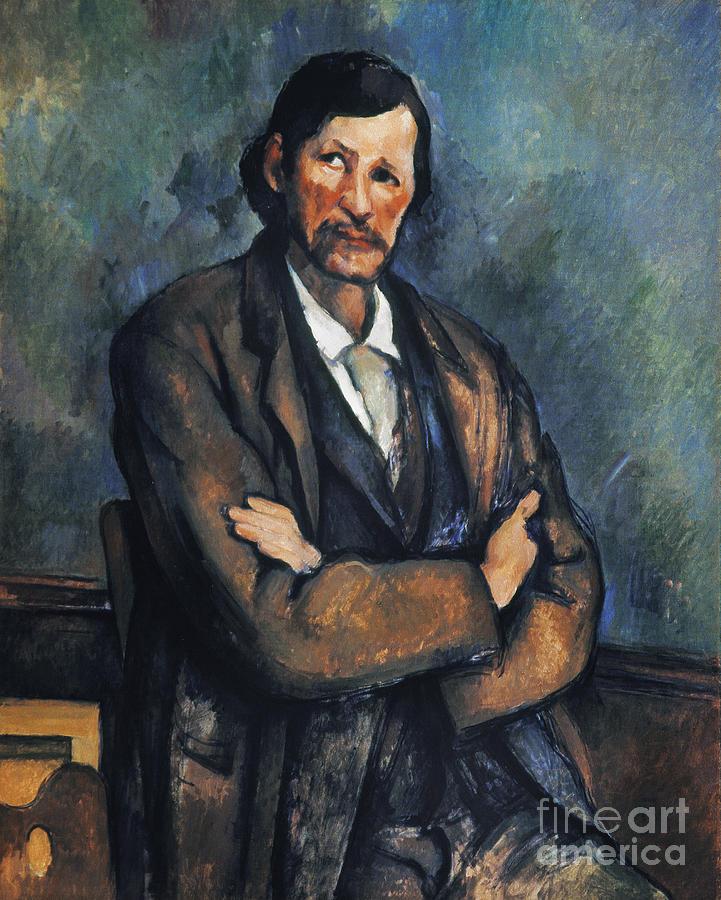 1899 Photograph - Cezanne: Man, C1899 by Granger