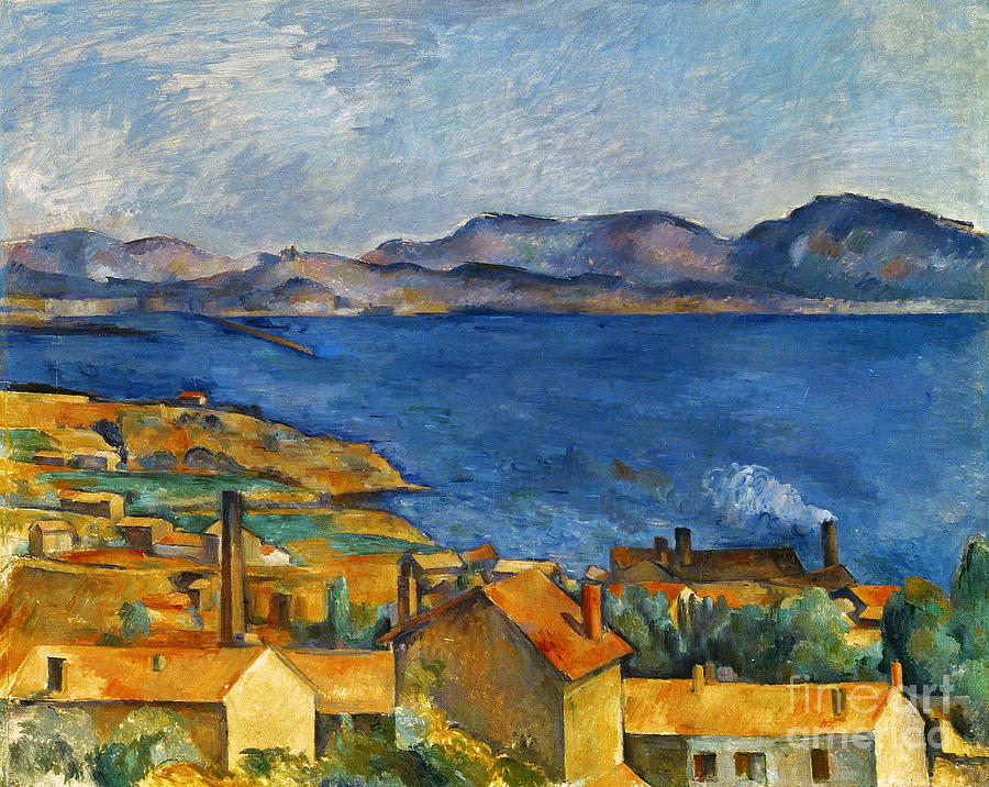 cezanne marseilles 1886 90 photograph by granger. Black Bedroom Furniture Sets. Home Design Ideas