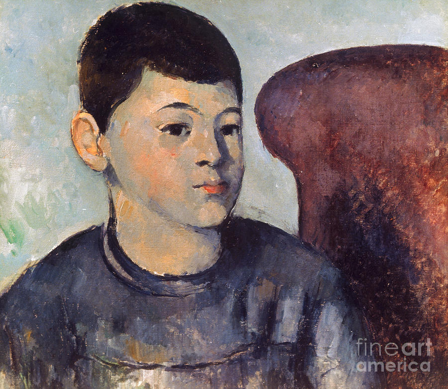 19th Century Photograph - Cezanne: Portrait Of Son by Granger