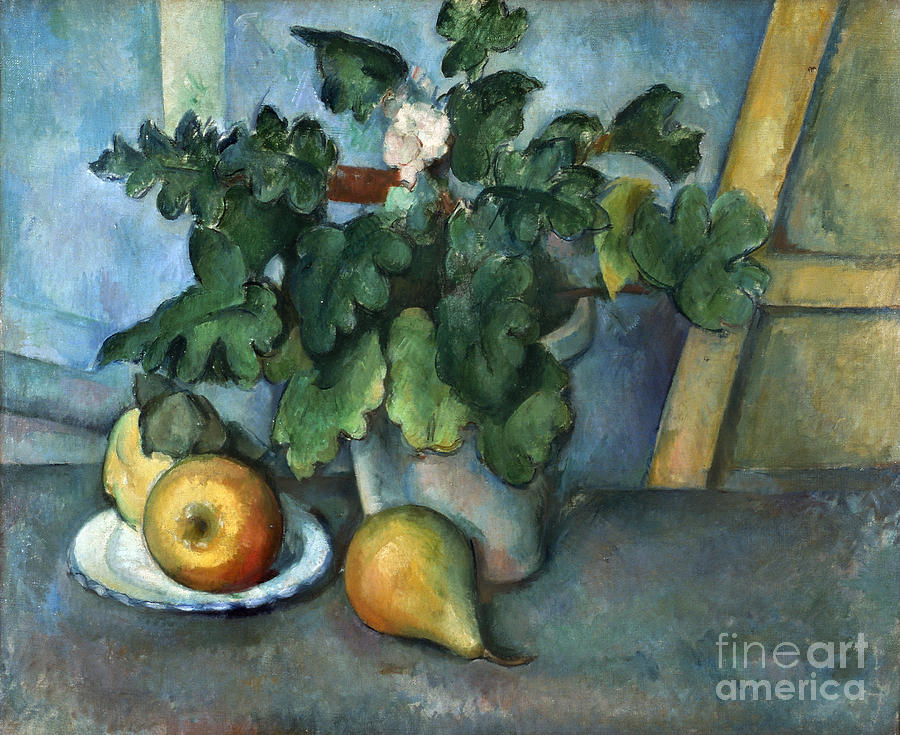 1890 Photograph - Cezanne: Still Life, C1888 by Granger