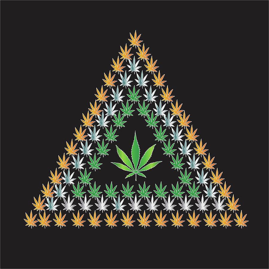 Weed Digital Art - CH1 by Larry Waitz