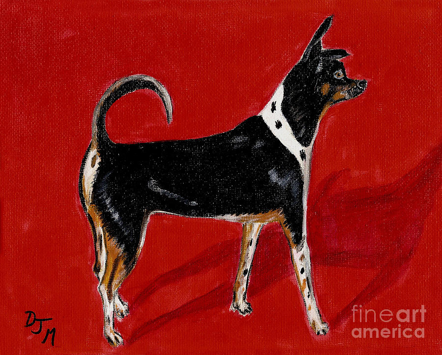 Dogs Painting - Chachi by Dalila Jasmin