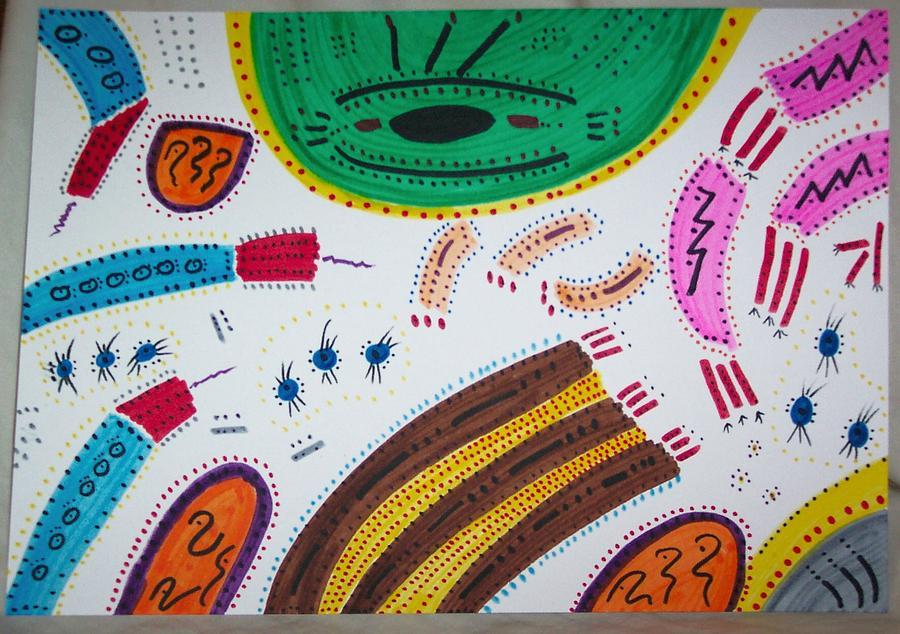 Dreaming Painting - Chachuka Vibraphonic Celebration Dance by Gregg Echols