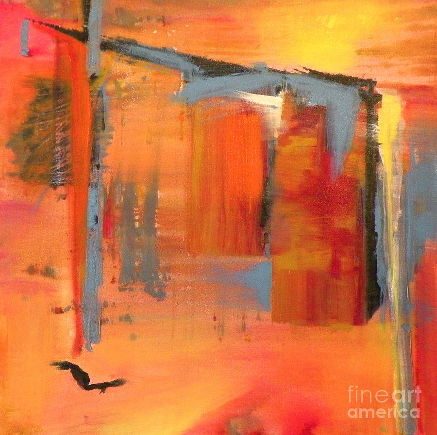 Abstract Painting - Chai by Susan A Becker