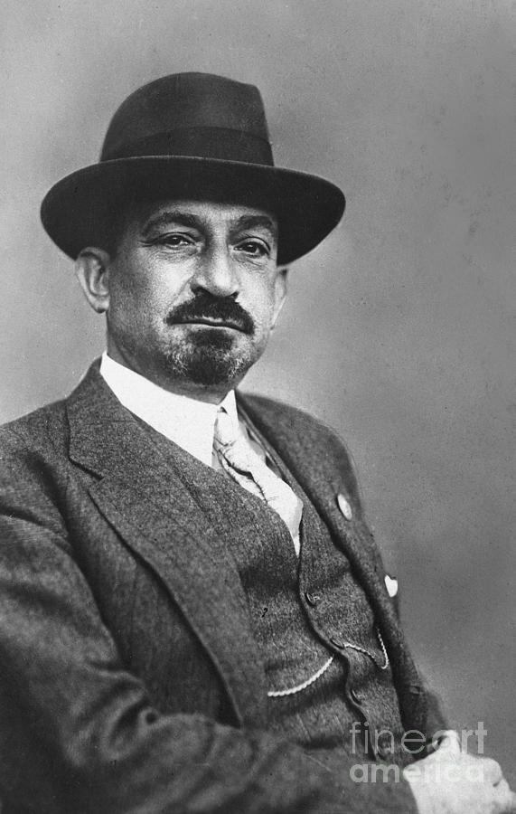 19th Century Photograph - Chaim Weizmann  by Granger