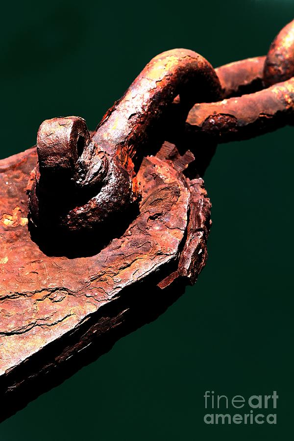 Metal Photograph - Chain Age II by Stephen Mitchell