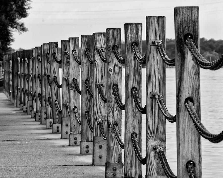 Chain Photograph - Chains by Deborah Ritch